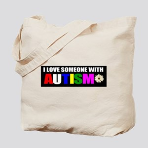 Autism and love Tote Bag