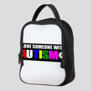 Autism and love Neoprene Lunch Bag
