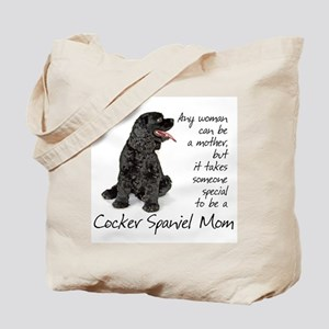 Cocker Spaniel Mom Tote Bag