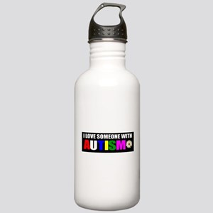 Autism and love Stainless Water Bottle 1.0L