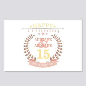 Personalized Name and Yea Postcards (Package of 8)