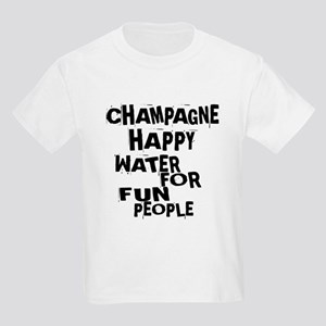 Champagne Happy Water For Fun P Kids Light T-Shirt