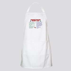 Miniature Pinscher Property Laws BBQ Apron