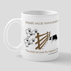 Border Collie Commandment Mug