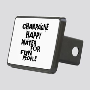 Champagne Happy Water For Rectangular Hitch Cover