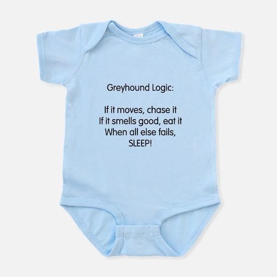 Greyhound Logic Infant Bodysuit