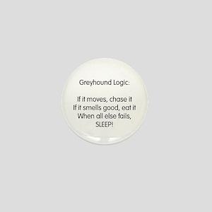 Greyhound Logic Mini Button