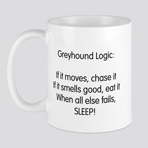 Greyhound Logic Mug