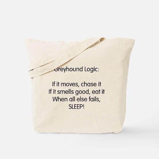Greyhound Logic Tote Bag