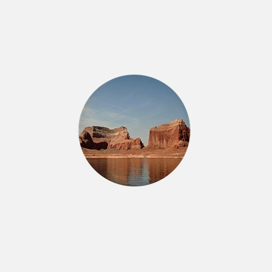 Lake Powell, Glen Canyon, Arizona, USA Mini Button