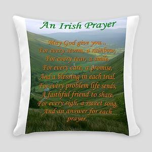 Irish Prayer Everyday Pillow