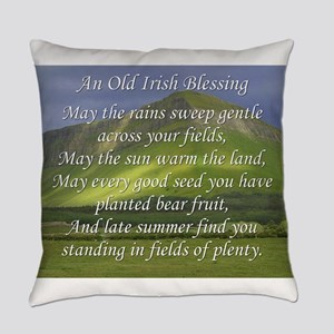 Old Irish Blessing #5 Everyday Pillow