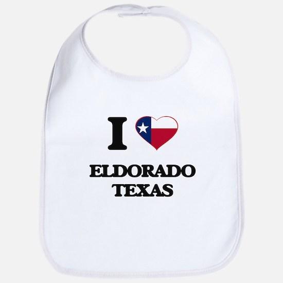 I love Eldorado Texas Bib