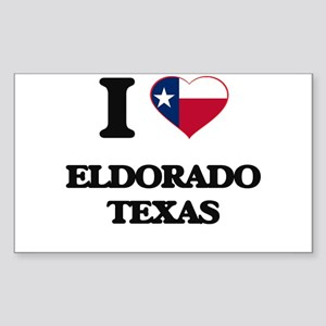 I love Eldorado Texas Sticker