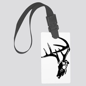 deer skull Large Luggage Tag
