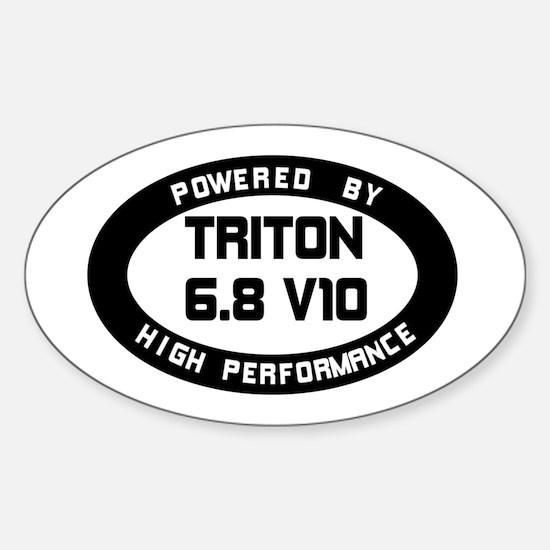 Ford Triton V10 Decal