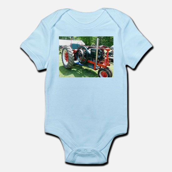 antique red tractor Body Suit