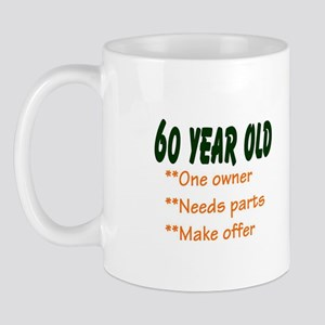 60 YEAR OLD Mug