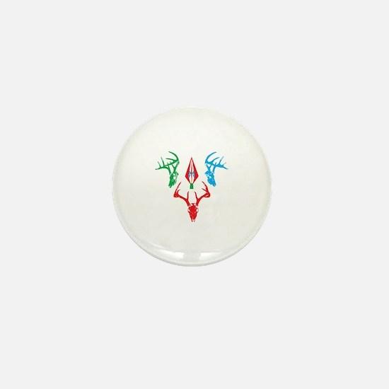 deer skulls Mini Button