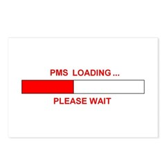 PMS LOADING... Postcards (Package of 8)