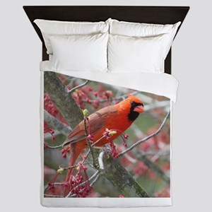Flower Cardinal Queen Duvet