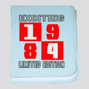 Exciting 1984 Limited Edition baby blanket