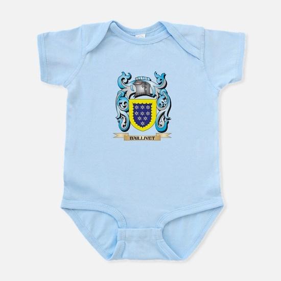 Baillivet Coat of Arms - Family Crest Body Suit