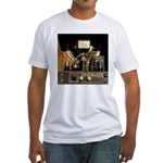 Tubes equal Tone Fitted T-Shirt