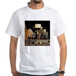 Tubes equal Tone White T-Shirt