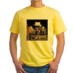 Tubes equal Tone Yellow T-Shirt