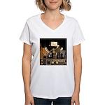 Tubes equal Tone Women's V-Neck T-Shirt