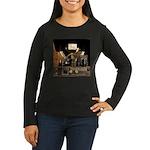 Tubes equal Tone Women's Long Sleeve Dark T-Shirt