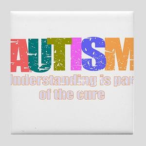 Curing Autism Tile Coaster