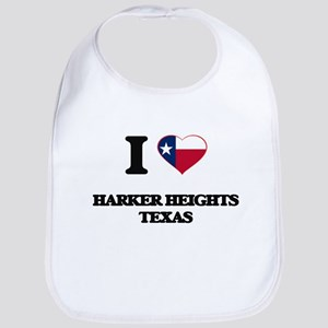 I love Harker Heights Texas Bib