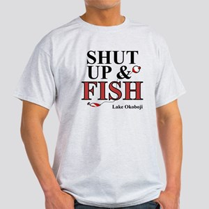 Shut Up & Fish Light T-Shirt