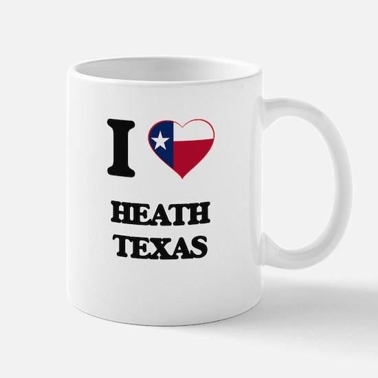 I love Heath Texas Mugs