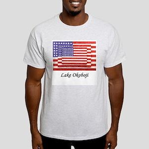 USA 3 Flags Light T-Shirt