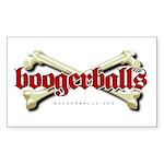 Boogerballs Bones Rectangle Sticker