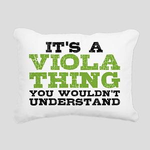 Viola Thing Rectangular Canvas Pillow