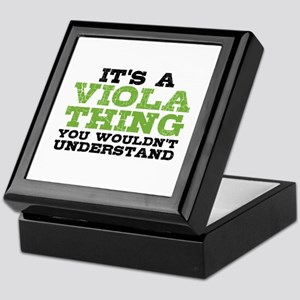 Viola Thing Keepsake Box