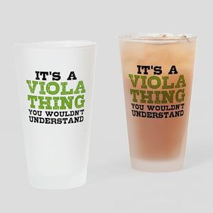 Viola Thing Drinking Glass
