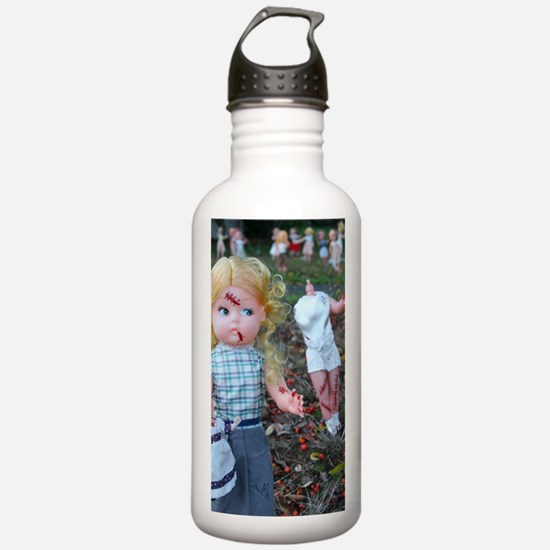doll zombies Water Bottle