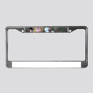 doll zombies License Plate Frame