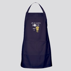 All you need is love and a Lab Apron (dark)