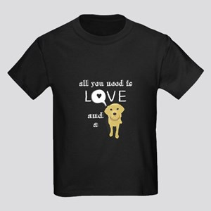 All you need is love and a Lab T-Shirt