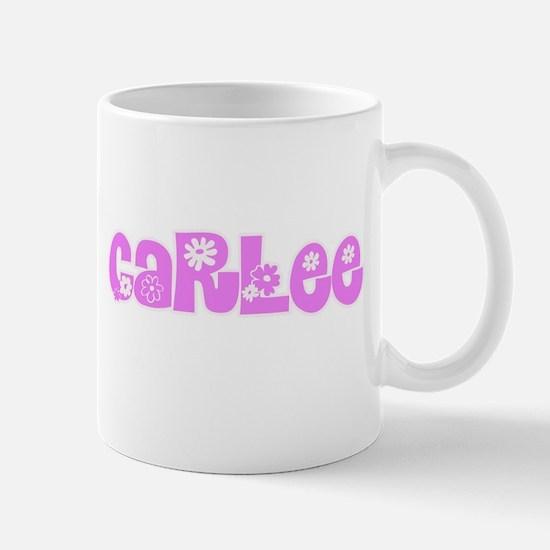 Carlee Flower Design Mugs