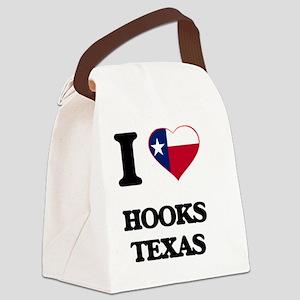 I love Hooks Texas Canvas Lunch Bag