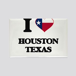 I love Houston Texas Magnets