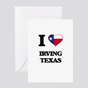 I love Irving Texas Greeting Cards