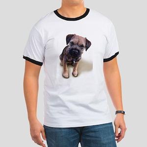 Border Terrier Boy Ringer T